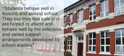 Harper Green Ofsted Quote